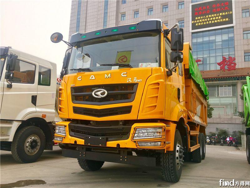 汉马H7 6X4自卸车,345马力