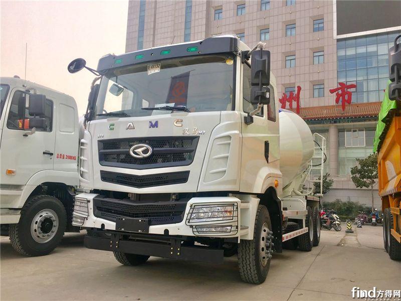 汉马H7 6X4搅拌车,375马力