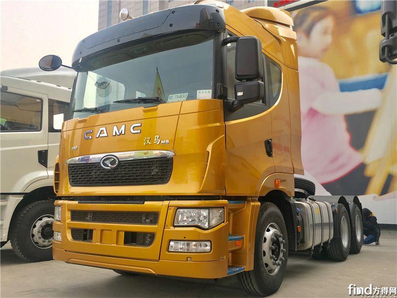 汉马H9 高顶,6X4牵引车,480马力(这款车在展车中马力最大)