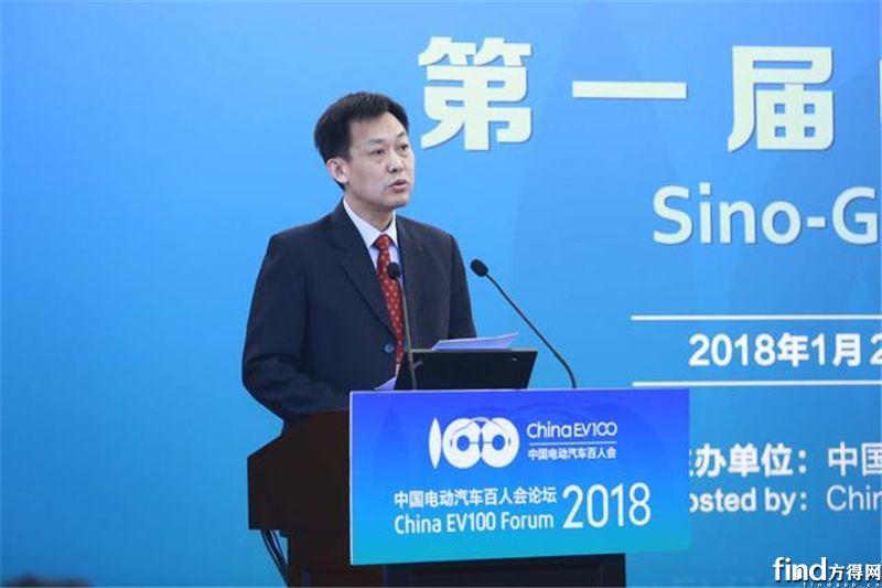 瞿国春:工信部将加速推出新能源汽车安全强制