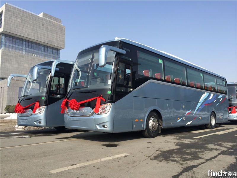 安凯A9客车批量交付合肥客运 (2)