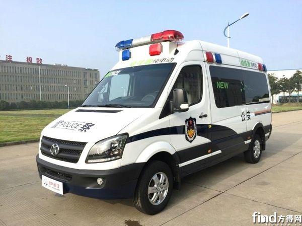 北汽长江纯电动公安车成警察出行好帮手
