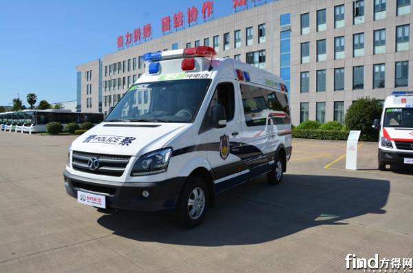 北汽长江纯电动公安车5