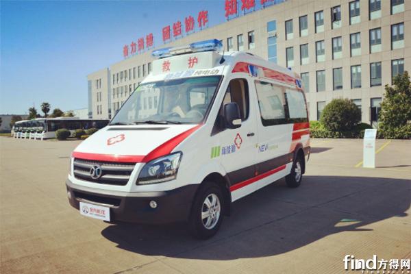 评测:北汽长江纯电动救护车