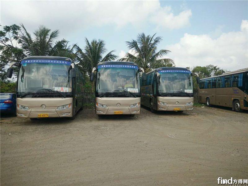 174辆大中型客车护航博鳌亚洲论坛1