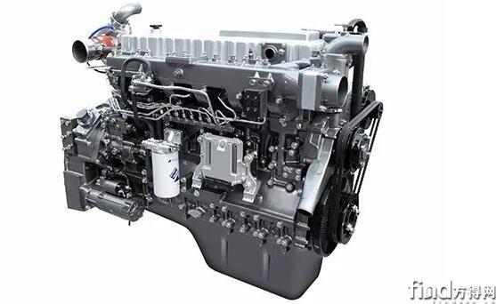 客车柴油发动机YC6MK