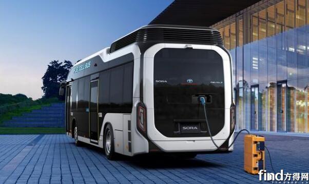 丰田汽车首次销售燃料电池巴士