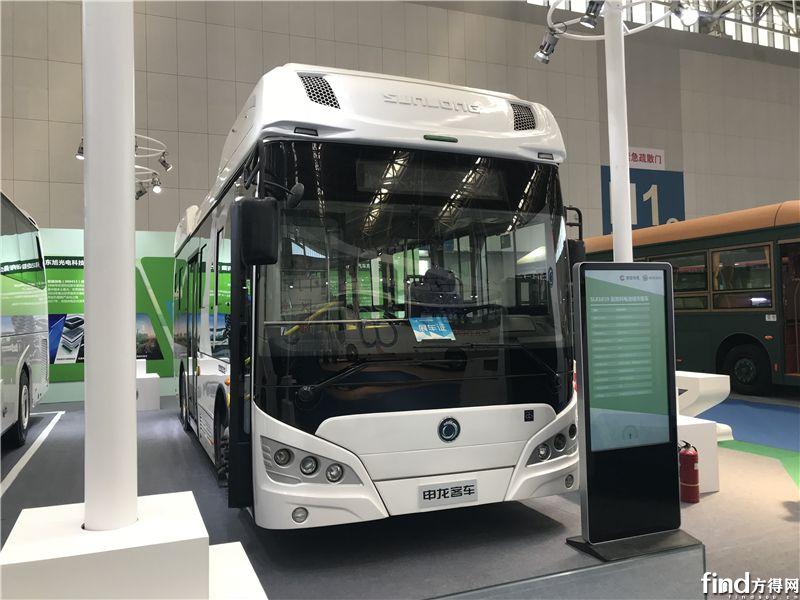 SLK6859氢燃料电池城市客车