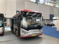 2018天津客车展银隆展车