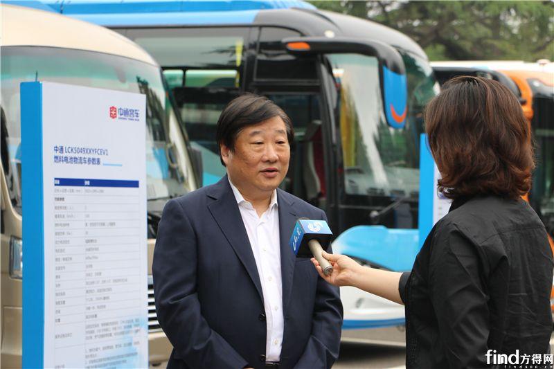 谭旭光董事长接受媒体采访