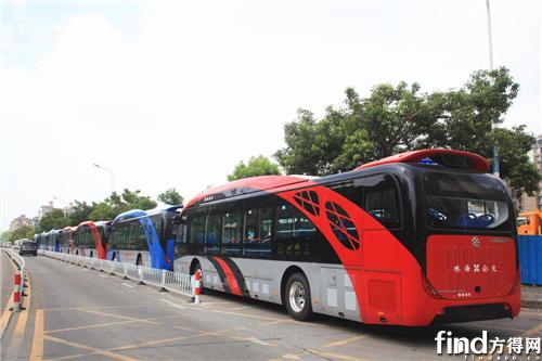 银隆新能源海豚巴士将投运珠海 (2)
