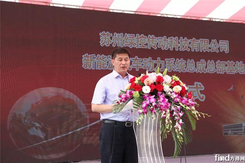 吴江区区委常委、开发区党工委副书记徐晓枫