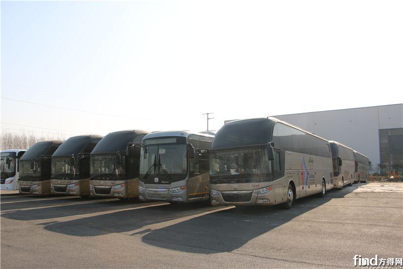 已交付沙特市场的中通高端旅游客车 (2)
