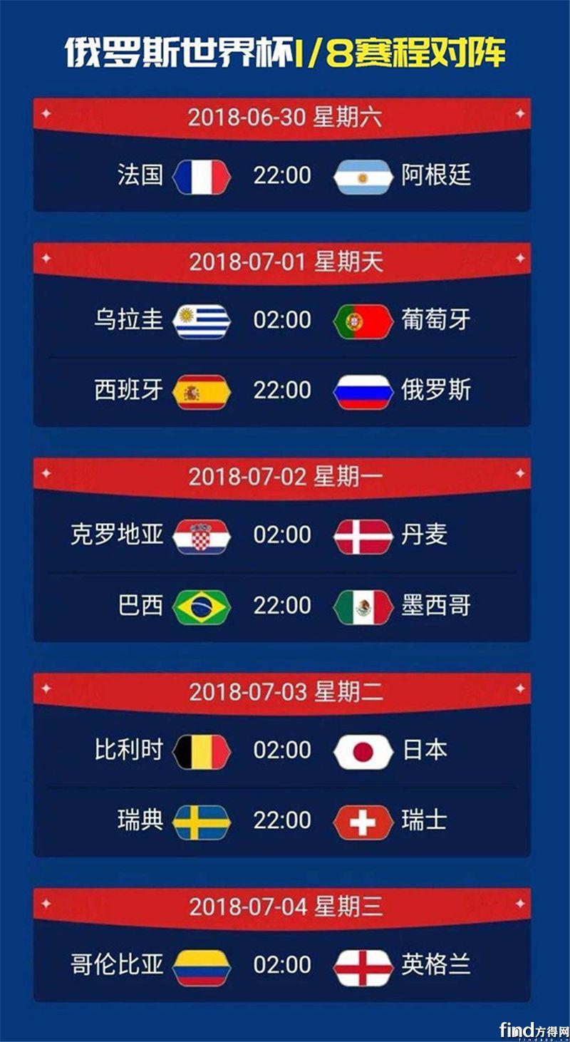 【福田瑞沃】内有福利|世界杯即将进入18决赛 (2)
