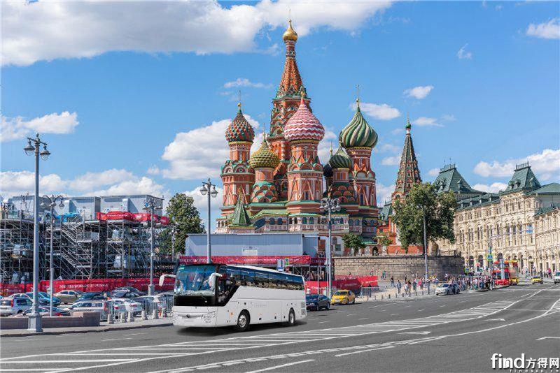 3233辆宇通客车出口到俄罗斯 (4)