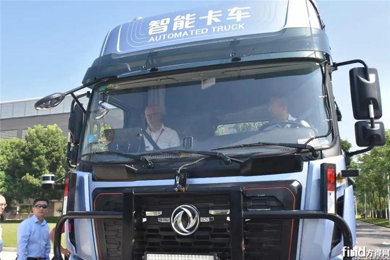沃尔沃集团高层参访东风商用车 (1)