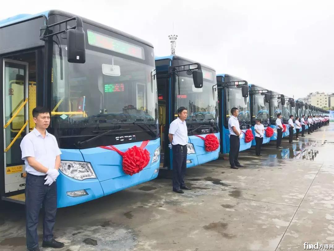 100辆新能源公交上线!