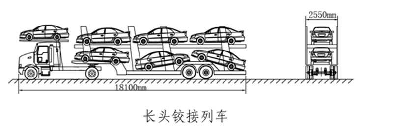 轿运车全部合规已足月  80台乘龙T5轿运车交付华阳储运1