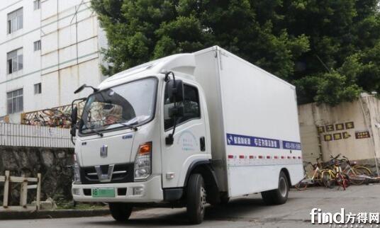 深圳新能源物流车保有量超4万