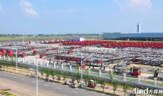 长久专用车滁州生产基地