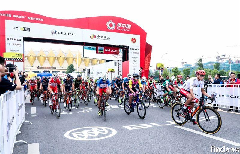 福田欧辉护航2018环中国自行车赛1