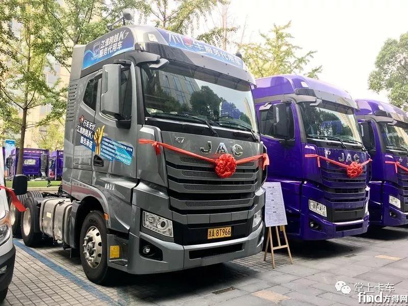 6×2R后提升+1200L油箱,定制版江淮跨越K7实测!
