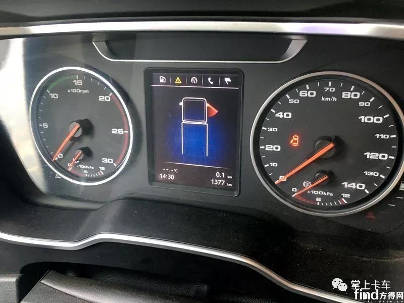 6×2R后提升+1200L油箱,定制版江淮跨越K7实测!6