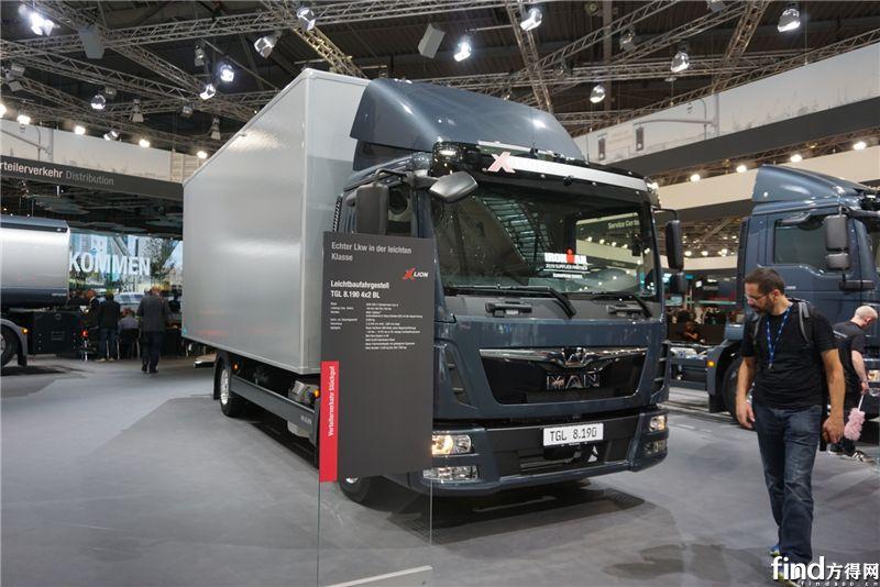 曼恩商用车亮相2018年IAA汉诺威国际商用车展