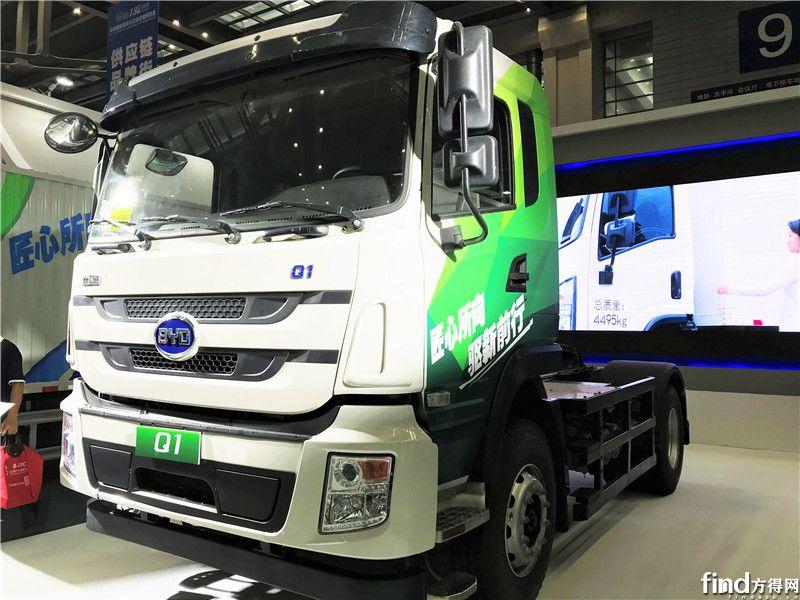 加速卡车电动化布局 比亚迪商用车亮相深圳物博会 (3)