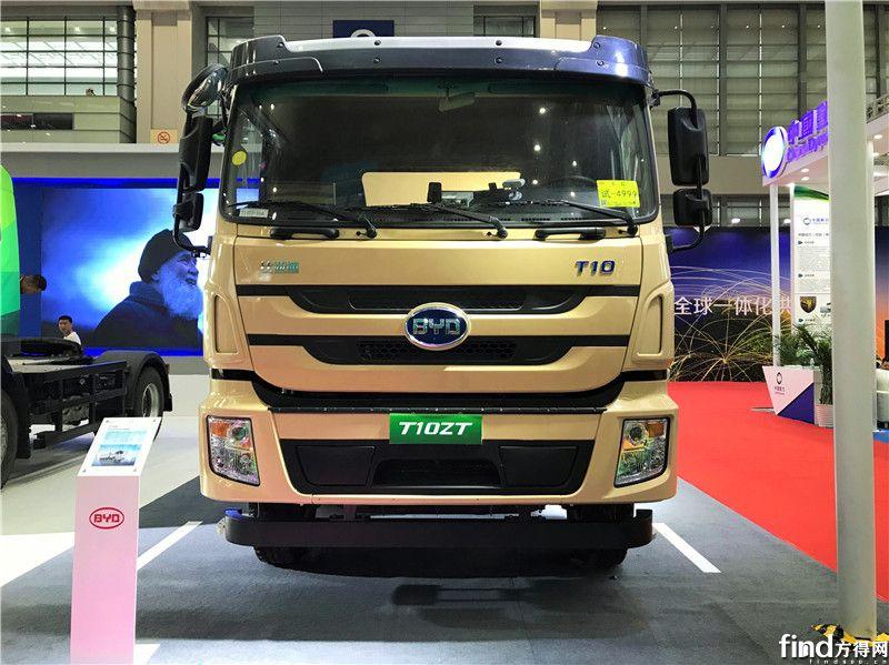 加速卡车电动化布局 比亚迪商用车亮相深圳物博会 (2)