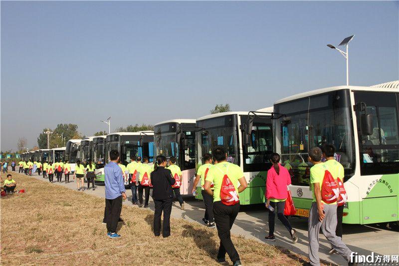 3 赛事通勤保障用车由190余台金旅纯电动公交车承担