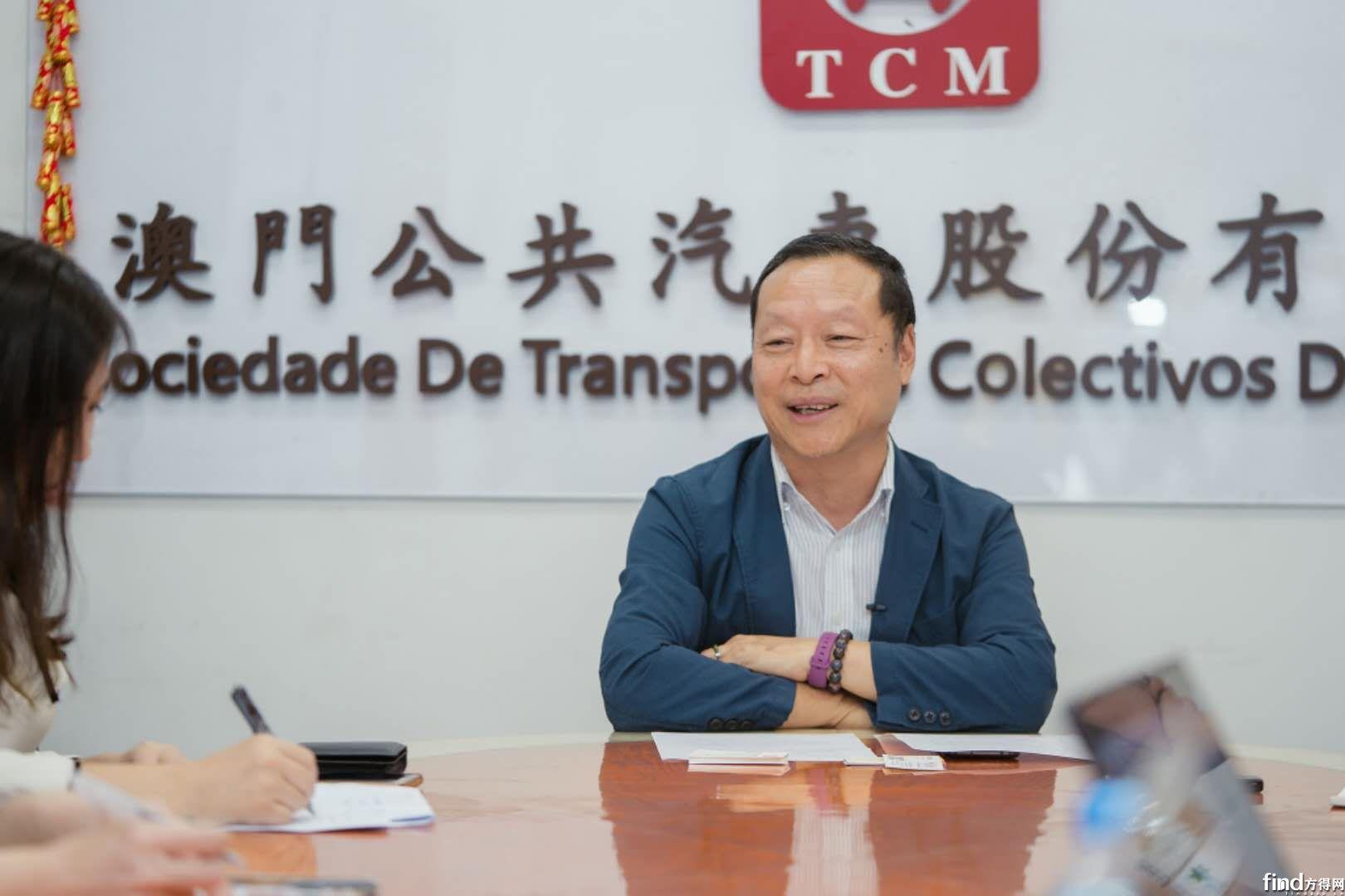 澳门公共汽车股份有限公司副总经理郑炳灿先生