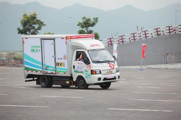 江淮多款新能源商用车亮相年度车型评选