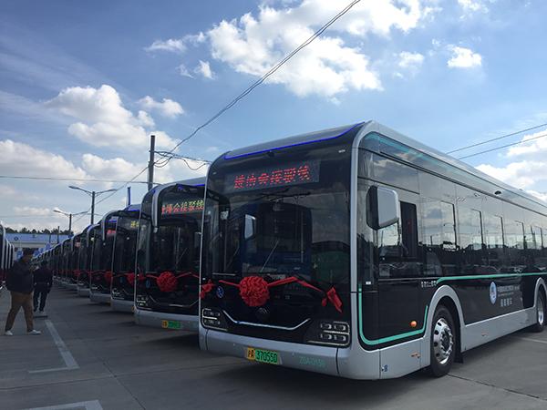 440辆智能公交车将用于进博会
