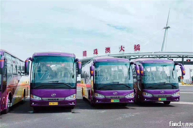 """唯一""""站在""""珠港澳大桥的国内客车 为何出自这家企业? (4)"""