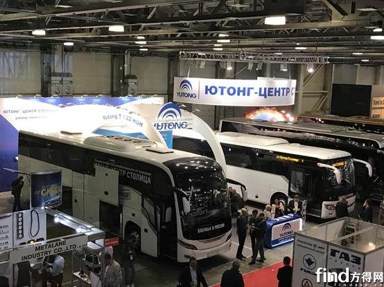 获莫斯科副市长称赞,宇通闪耀Busworld俄罗斯车展 (2)