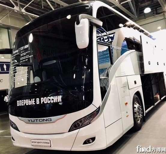 获莫斯科副市长称赞,宇通闪耀Busworld俄罗斯车展 (5)