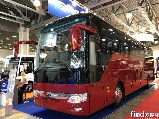 获莫斯科副市长称赞,宇通闪耀Busworld俄罗斯车展 (7)