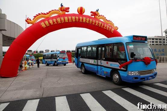 20辆金旅纯电动客车交付西藏 (1)