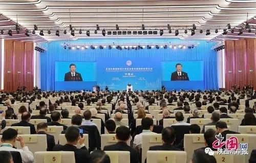 陕汽在首届中国国际进出口博览会上签约 (1)