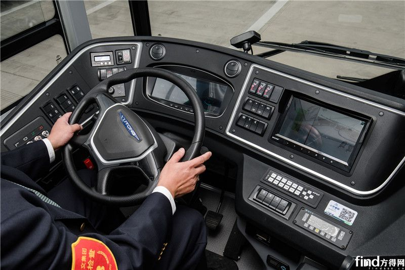 迎进博,宇通智能网联纯电动公交为上海美好出行而来 (9)