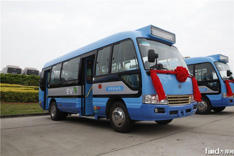 1 即将交付西藏昌都的金旅纯电动公交车