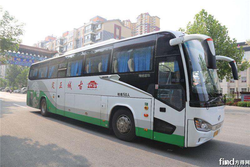 海格客车助力正定运鸿旅游客运三次创业 (6)