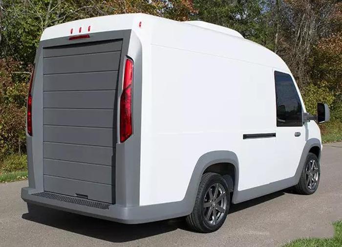 Workhorse开始投产搭载轮毂电机的轻型电动物流车 (2)
