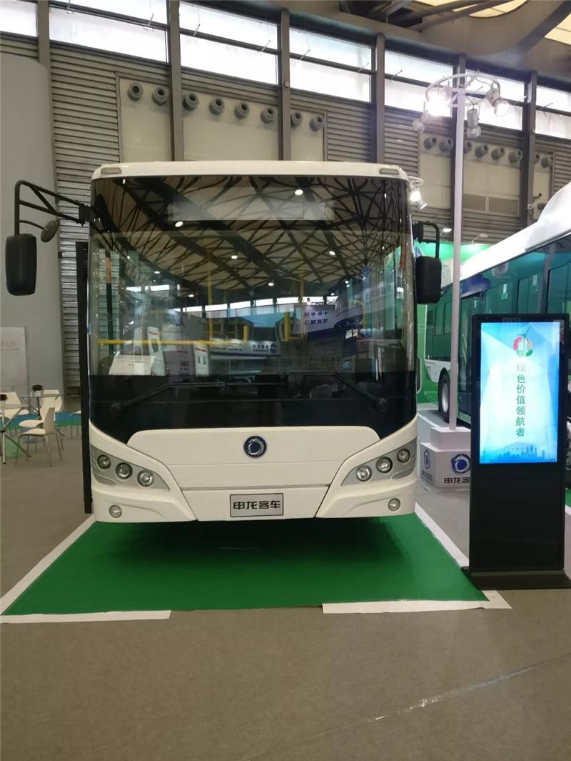 申龙三款新能源精品酷炫亮相上海国际客车展 (5)