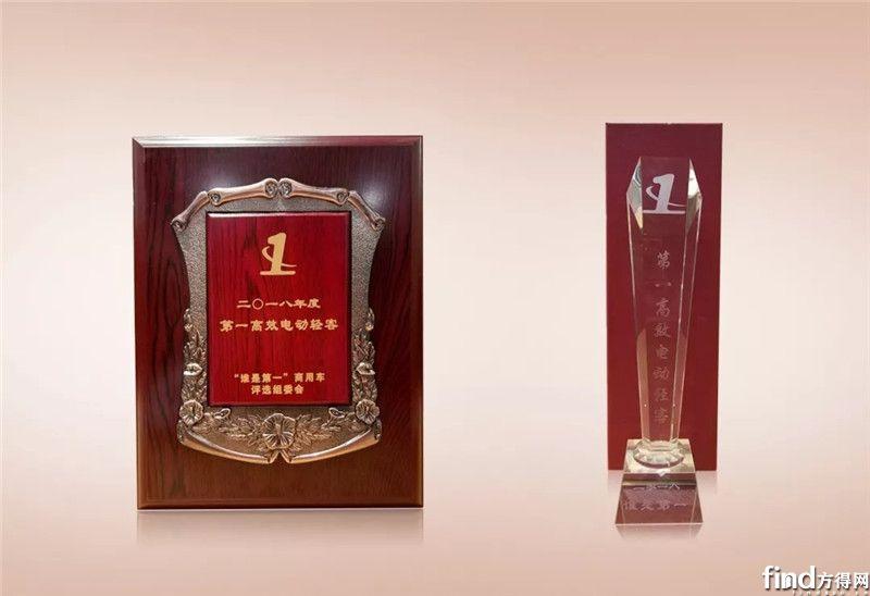 福田图雅诺EV荣获2018年度第一高效电动轻客 (1)