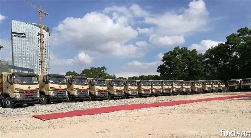 乘龙H7智能渣土车深圳获单245辆 (4)