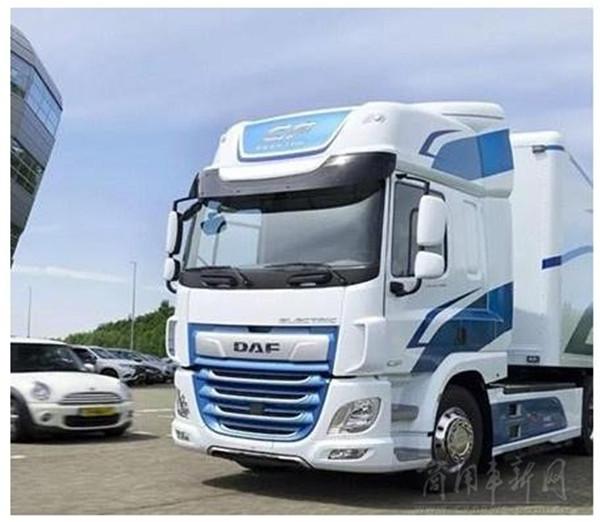 达夫发布三款新能源电动卡车