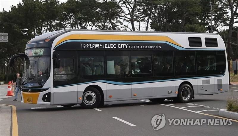 韩国2022年投两千辆氢燃料巴士