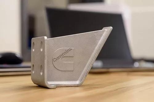 康明斯出首款3D打印金属零部件